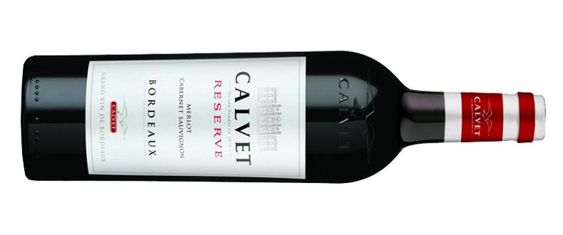 CALVET RESERVE MERLOT-CABERNET SAUVIGNON 2011