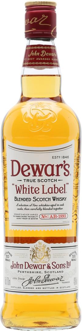 DEWAR'S WHITE LABEL (İSKOÇYA)