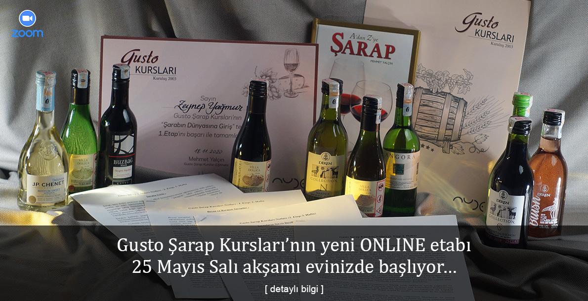 Yeni Online Şarap Kursu – 1. Etap